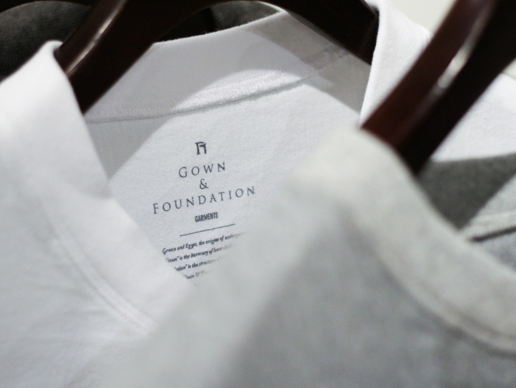 GOWN & FOUNDATION