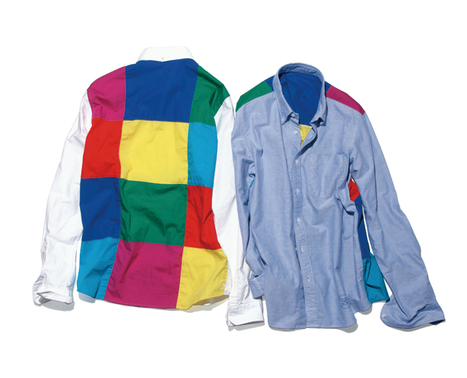 COLOR CHART PANEL OXFORD B.D SHIRT