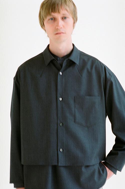 カットオフビッグシャツ