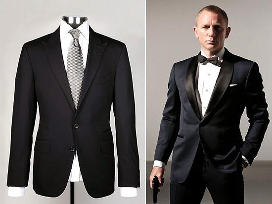 007 ジェームズボンド スーツ