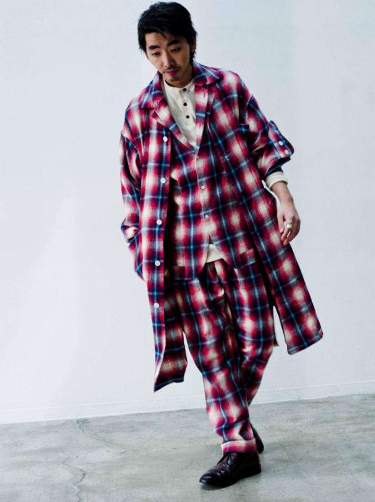 スリーピースパジャマ