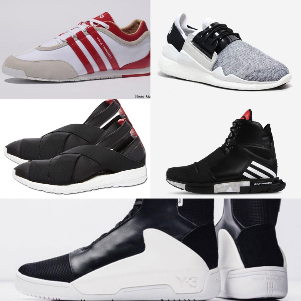 Y3 靴 まとめ