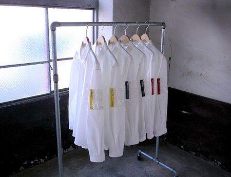 ディガウェル シャツ 袖切り替え