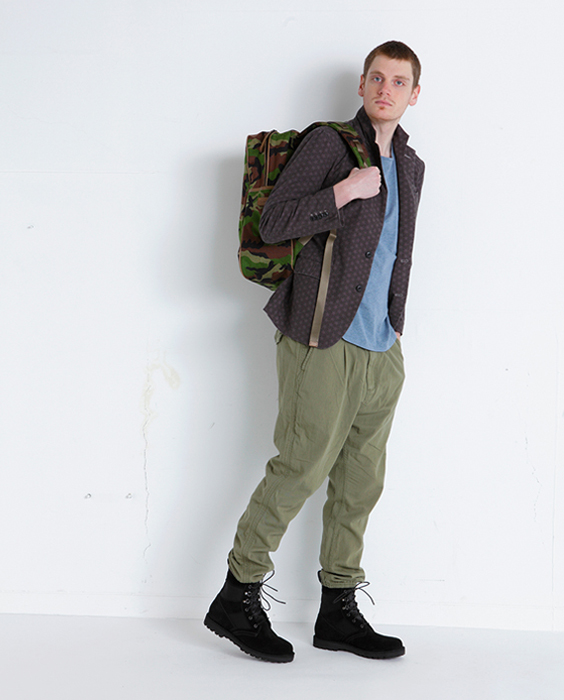EXPLORER EASY RIB PANTS