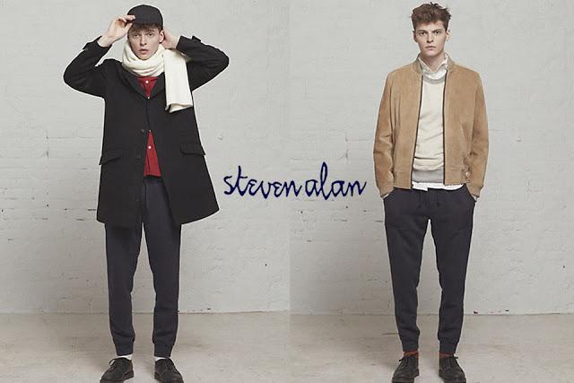 スティーブンアラン メンズファッションブランド