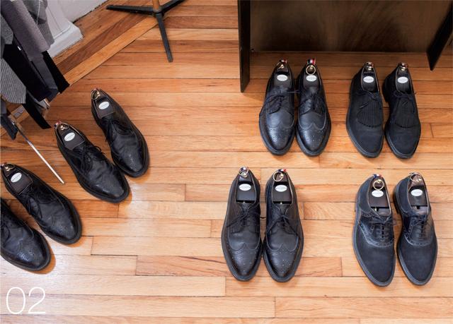 トムブラウン 靴