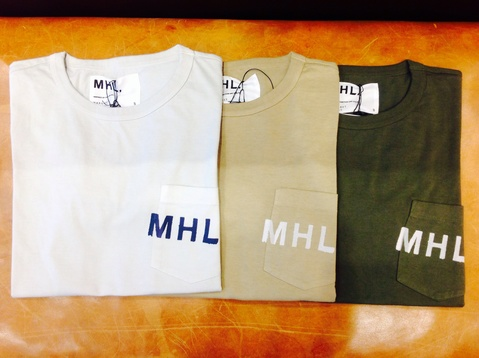 MHL ポケットTシャツ